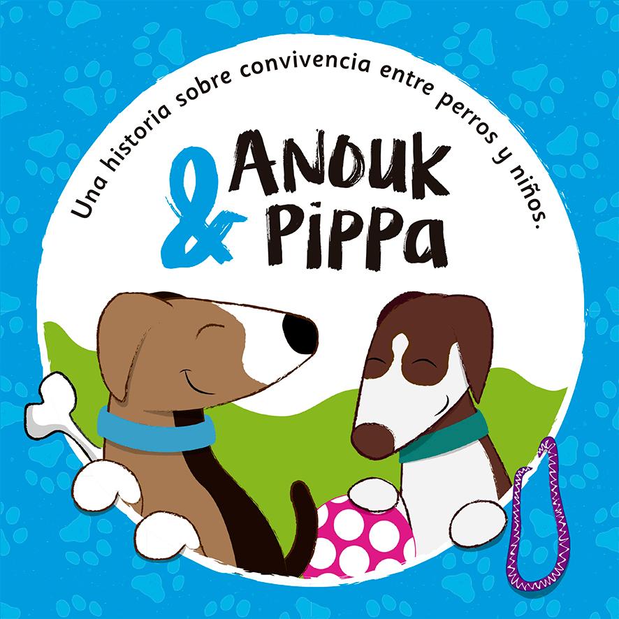 Portada libro Anouk & Pippa