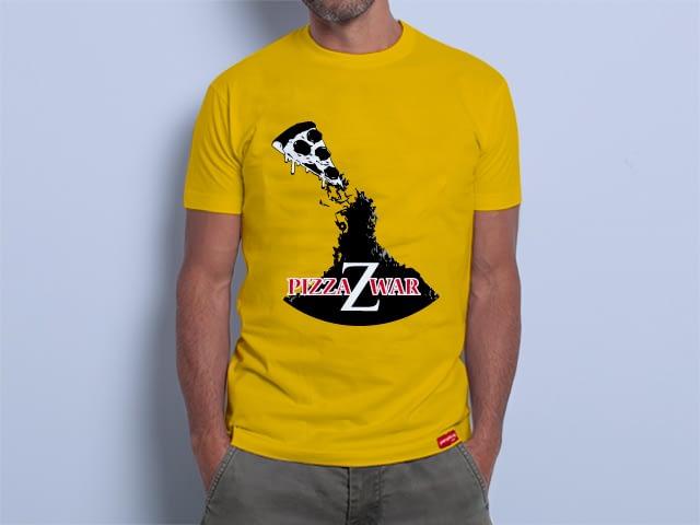 Camiseta Pizza Z War