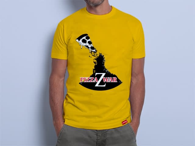 Camiseta Pizza Z War